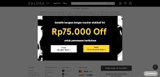 Gambar Screenshot Zalora
