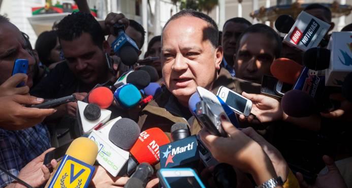 La Unión Eeuropea sanciona a Diosdado Cabello y al presidente del Supremo de Venezuela