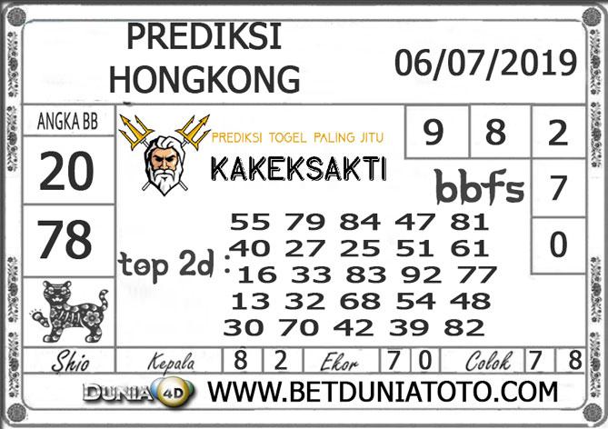 Prediksi Togel HONGKONG DUNIA4D 06 JULI 2019