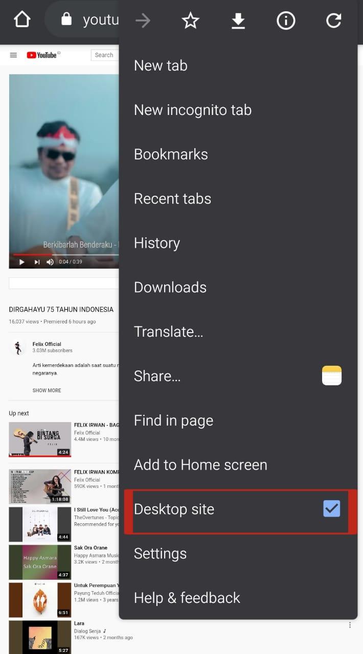 Cara Memutar Youtube di Latar Belakang Android Tanpa Aplikasi