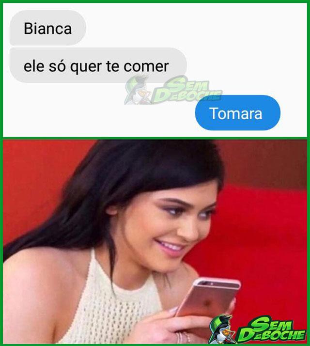 ELE SÓ QUER TE COMER