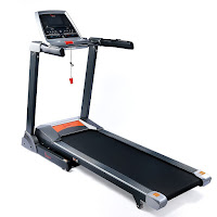 Sunny Health & Fitness SF-T1413 Treadmill, 2.75 HP motor, with 14 workout programs, 11 mph, 0-15% incline