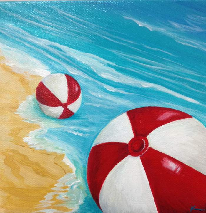Пляжные сцены. Kristine Gottsch 5