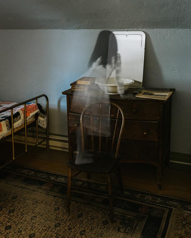 little girl ghost at Stricker Station