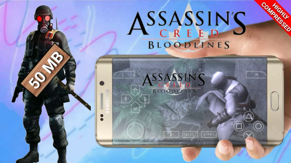 50mb] assassin's creed bloodlines PSP GAME HIGHLY COMPRESSED FOR