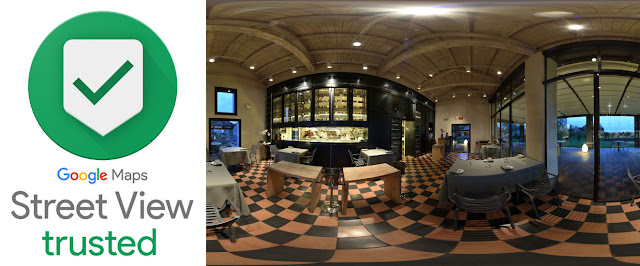 Michelin Star Restaurant Venice - photographed for a Hi-Fidelity 360° Virtual Tour by Kent Johnson Photography.