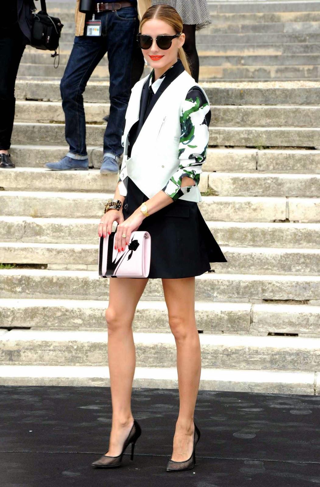The Olivia Palermo Lookbook : Olivia Palermo At the ...