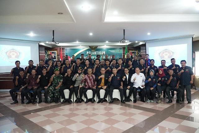 Pengurus PWI Muba Periode 2019-2022 Resmi Dilantik