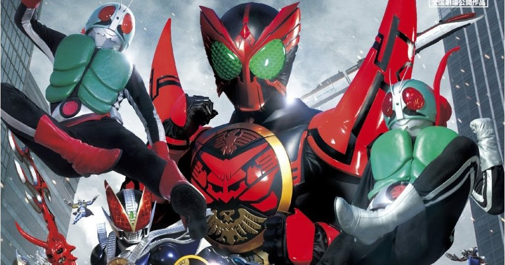 Dvd Iso Ooo Den O All Riders Let S Go Kamen Riders - Imagez co