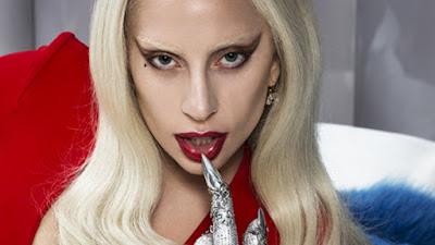Collage of Lady Gaga Wallpaper: JUDAS