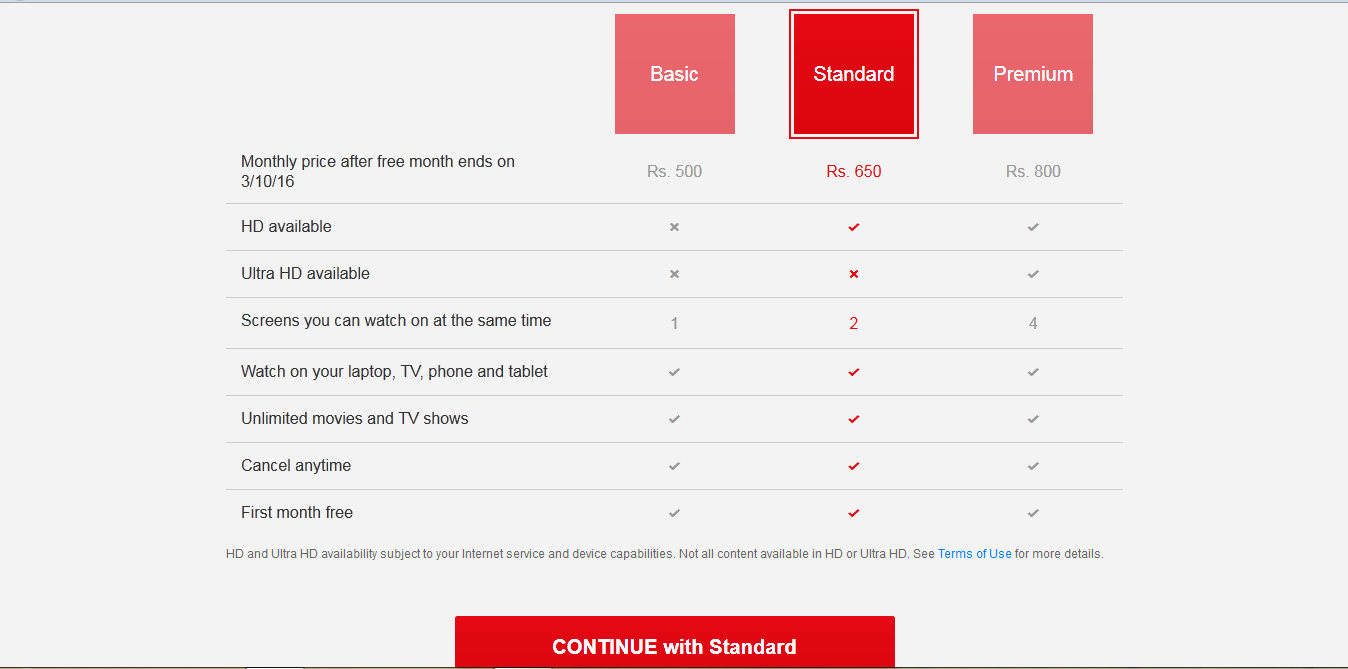 how to pay a netflix account