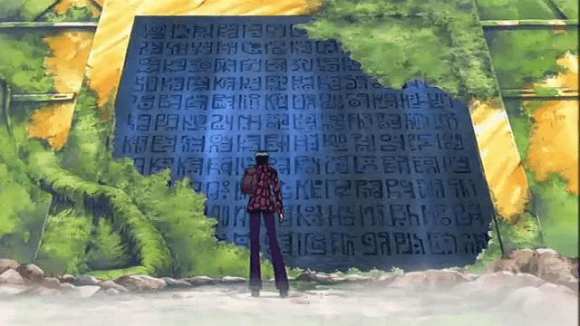 Nico Robin adalah salah satu arkeolog yang mampu membaca poneglyph