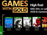Agustus, XBox Game With Gold