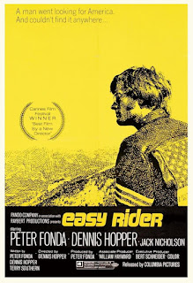 easy rider poster yellow