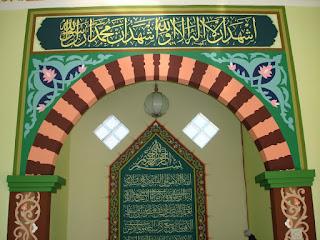 jasa kaligrafi masjid murah murah