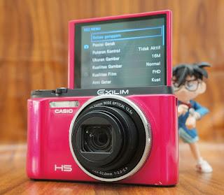 Jual Kamera Beauty Selfie Casio Exilim EX-ZR1500 Bekas