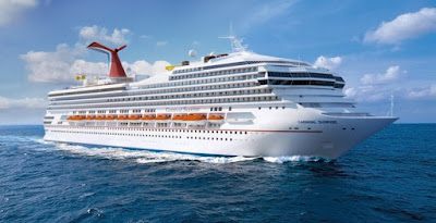 Artists Rendering of Carnival Cruises' Carnival Sunrise post refit.