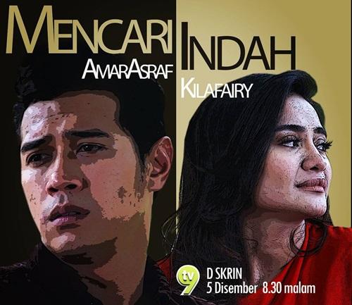 Sinopsis telemovie Mencari Indah TV9, pelakon dan gambar telemovie Mencari Indah TV9