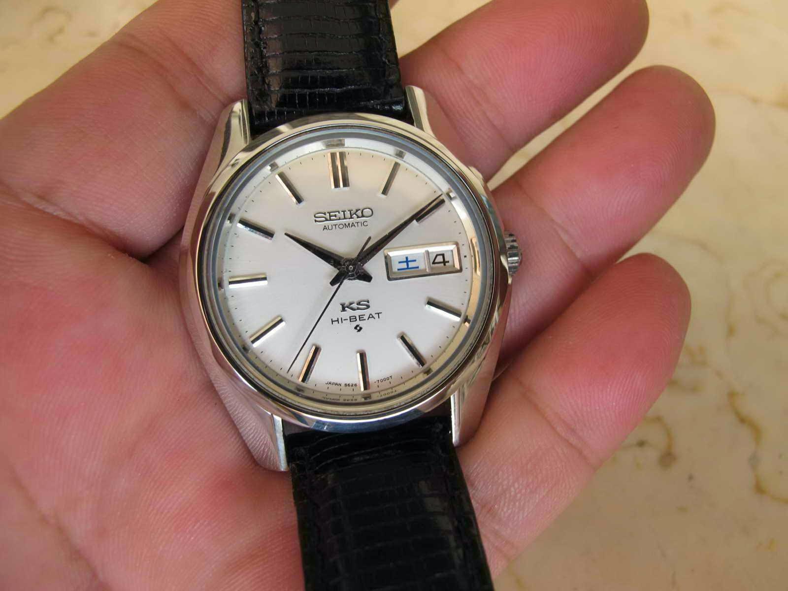 Cocok untuk Anda yang sedang mencari jam tangan Japan made HIGH BEAT....  Mencari KING SEIKO dengan kondisi seperti ini d7f0b0b354