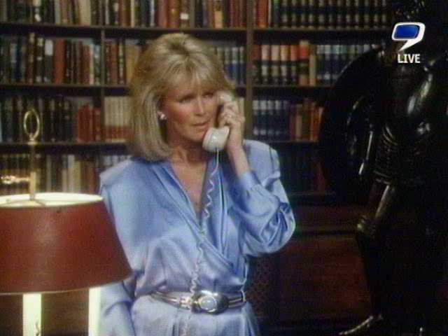 Ladies In Satin Blouses Linda Evans Various Satin Blouses