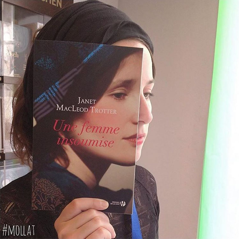 Book Covers Matched With Customers Faces By Librairie Mollat