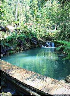 lokasi, rute, jalan menuju, bermain air di taman sungai mudal
