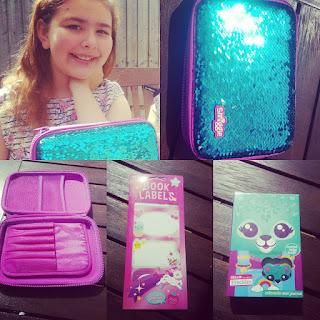 Top Ender with her Smiggle Haul