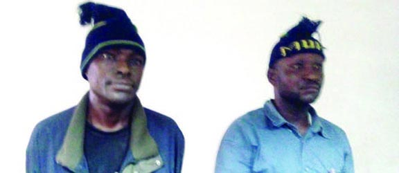 Two fake policemen arrested in Lagos State