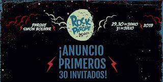 PRIMER ANUNCIO de bandas y agrupaciones Festival Rock al Parque 2019