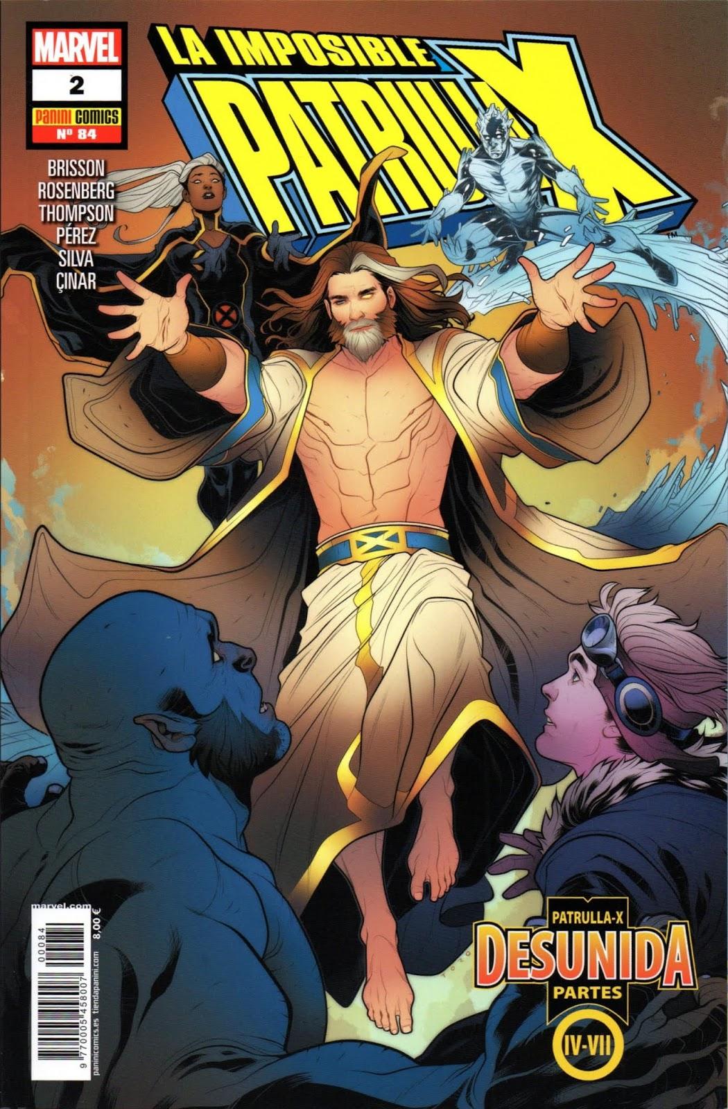 La imposible Patrulla X 84 (Uncanny X-Men 4 - 7 Vol 4)