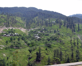 Beautiful scene of Naran, Kaghan Valley