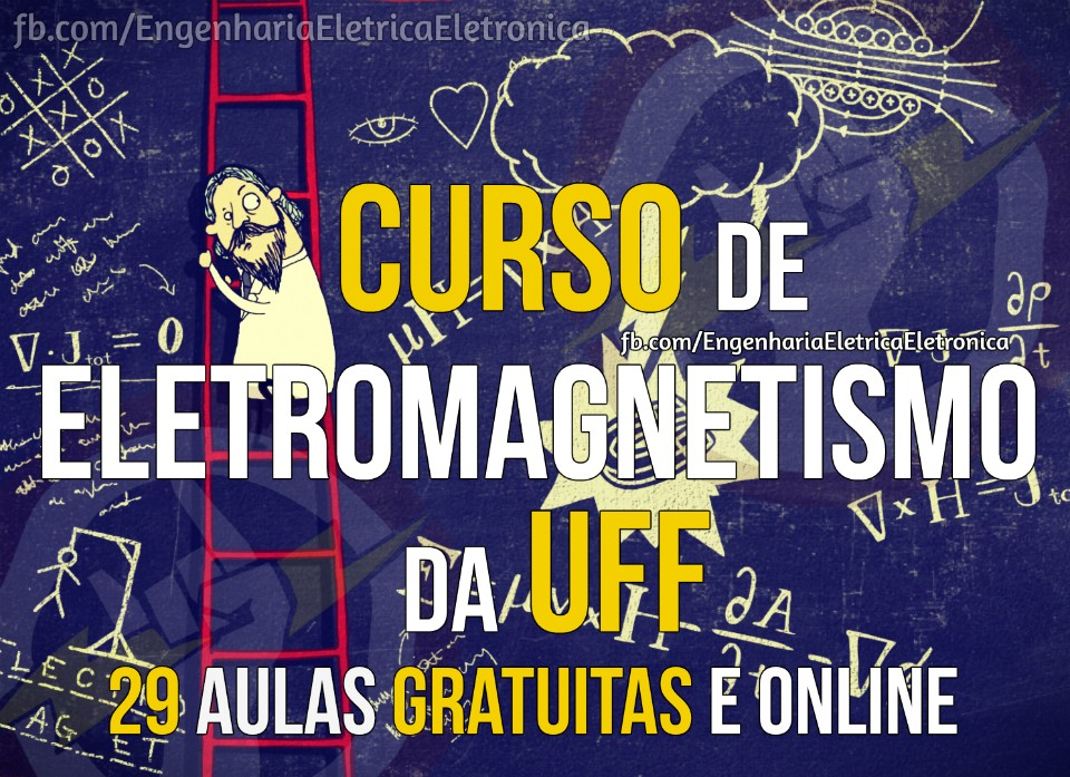 Curso online e gratuito de Eletromagnetismo da UFF.