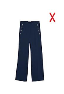 Расклешенные брюки для полных женщин