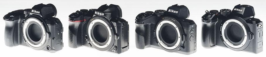 Прототипы Nikon Z