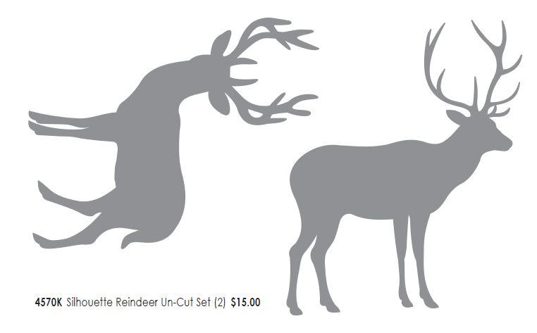 Reindeer templates cut out new calendar template site for Reindeer cut out template