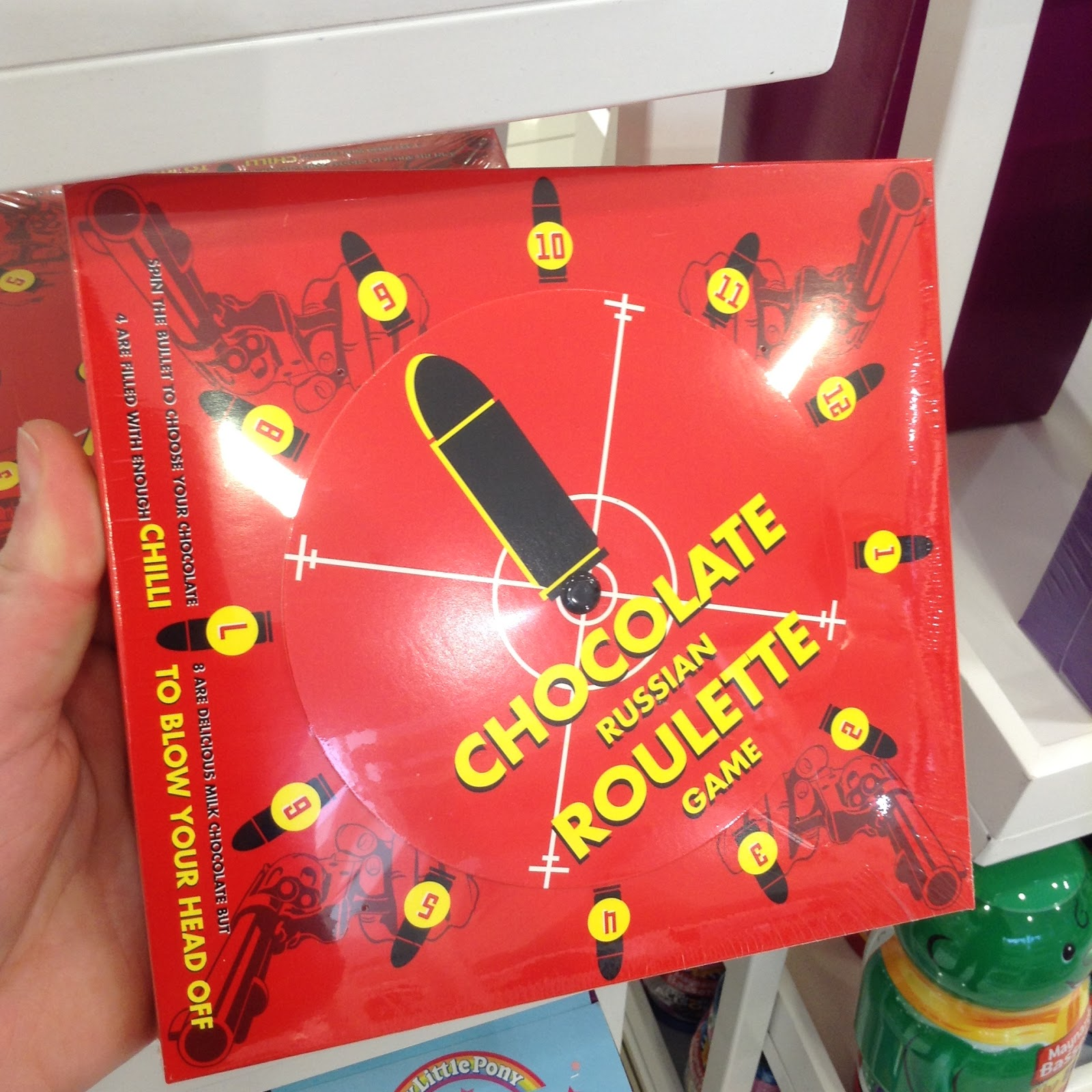 Russian roulette sweets