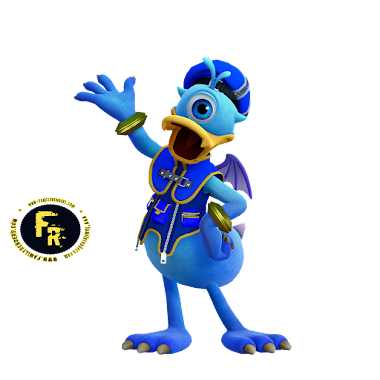 render Donald - Monster Inc, K3