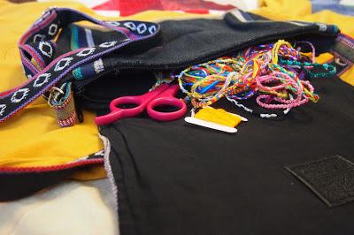 night+nomad+purse+with+bracelets - Kindness Matters : Friendship Bracelets for Haiti