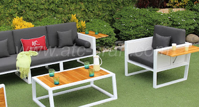 All Weather Outdoor Wicker Furniture Sofa Set
