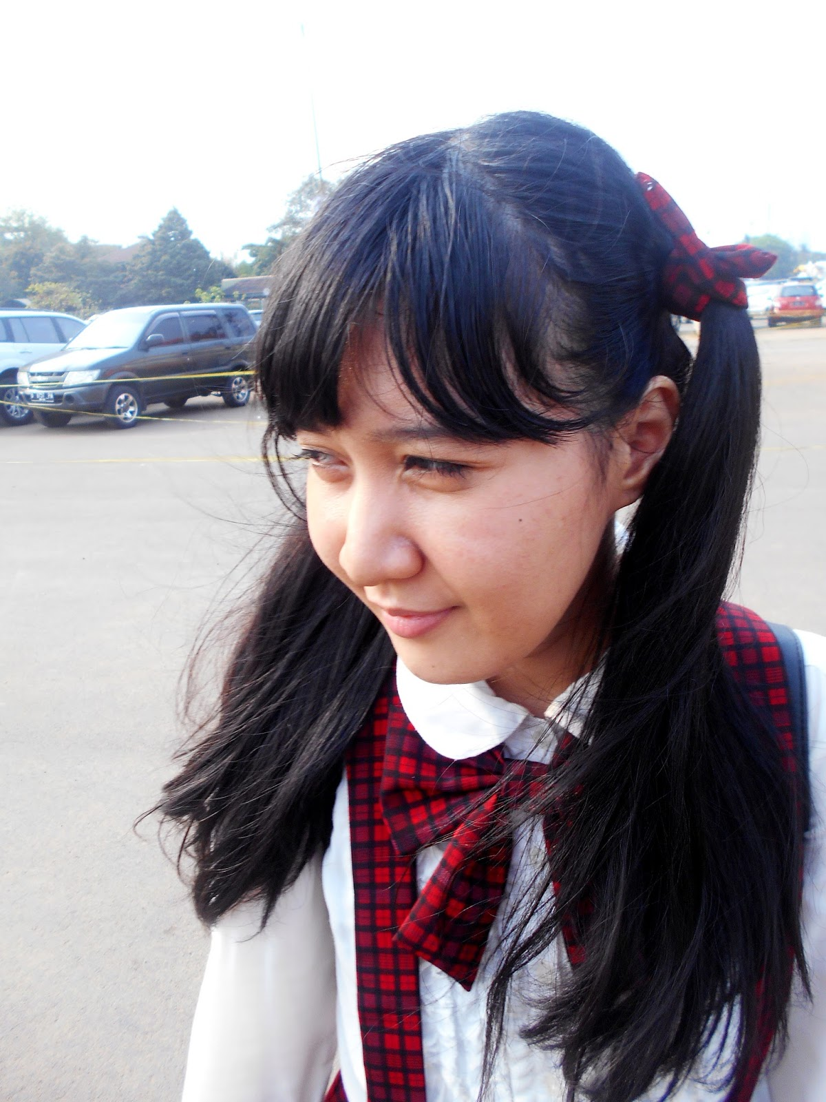 Anime School Girl Bow Tie DIY - AFAID 2015 candid