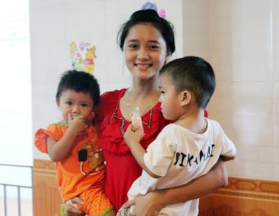 Yêu thương con trẻ và nhiệt huyết với nghề