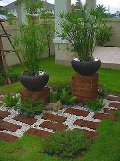 Jasa dekorasi taman minimalis | desain eksterior taman rumah minimalis | solusi taman anda