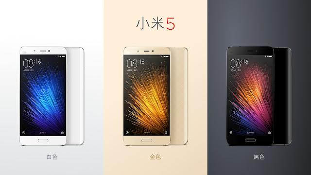 Inilah harga resmi dan tanggal ketersediaan Xiaomi Mi 5