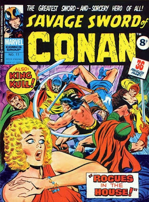 Marvel UK, Savage Sword of Conan #11