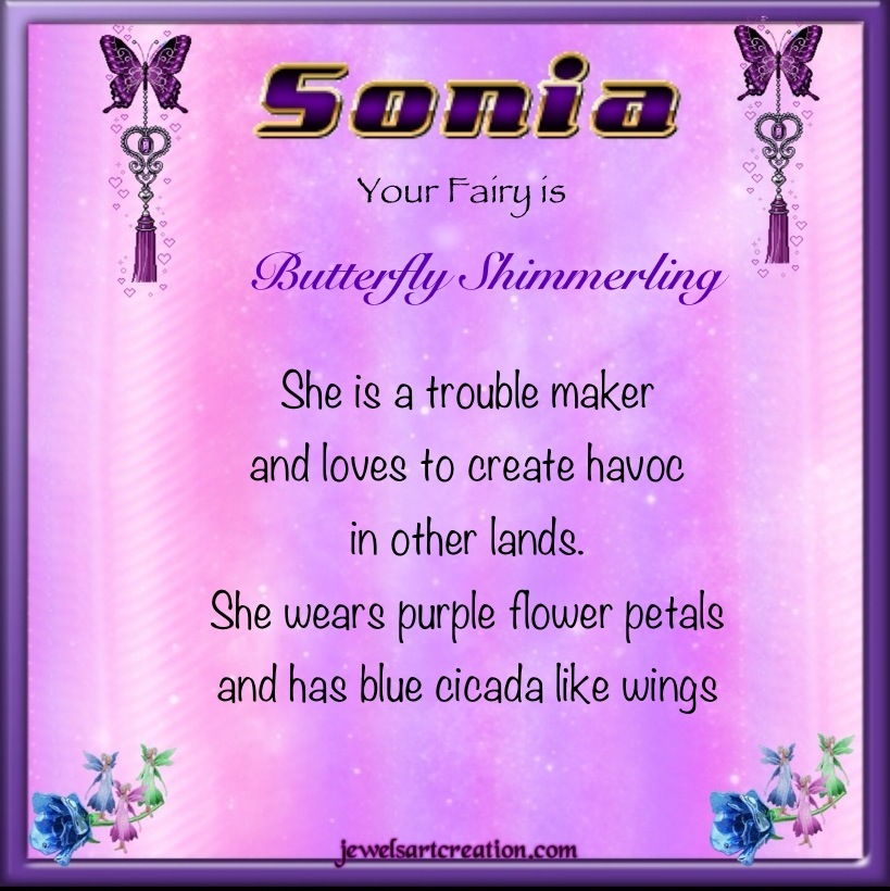 Name Sonia images
