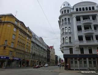 """""""La casa de la esquina"""" o Jefatura del KGB, nº61 calle Brivibas, Riga"""