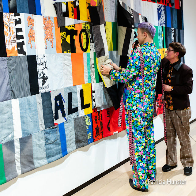 Bas Kosters presents this tapestry of his late father's wardrobe