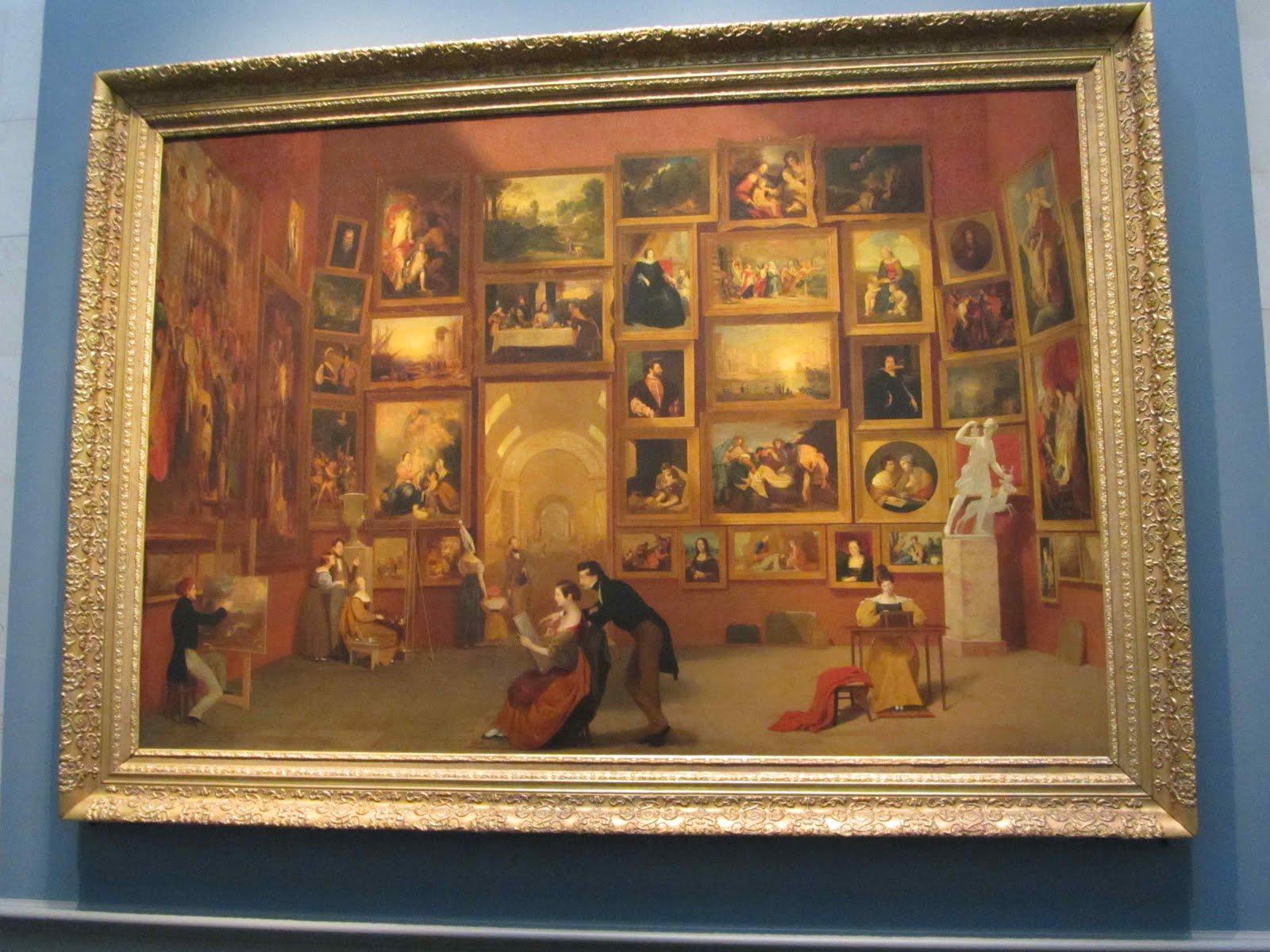 Mae Travels: Samuel F.B. Morse at the Louvre