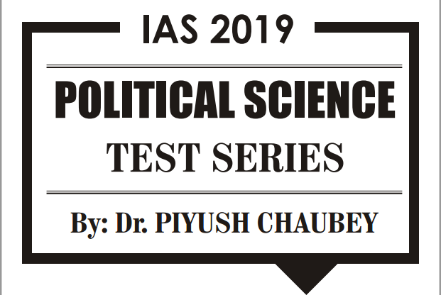 UPSC CSE test series 2019 of Political Science