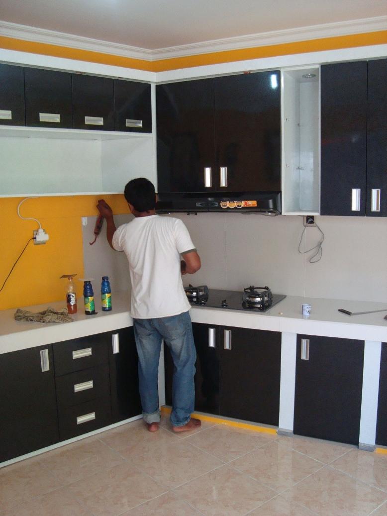 Kitchen set dari baja ringan www topsimages com